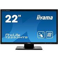 """21.5"""" iiyama T2253MTS-B1 - LCD LED monitor"""