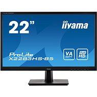 "22"" iiyama ProLite X2283HS-B5 - LCD LED monitor"