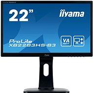 "21,5"" iiyama ProLite XB2283HS-B3 - LCD LED monitor"