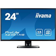 "24"" iiyama ProLite X2481HS-B1 - LCD LED monitor"