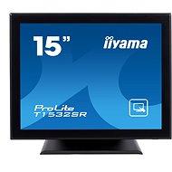 "15"" iiyama ProLite T1532SR-B3 Touchscreen fekete - Érintőképernyős LCD monitor"