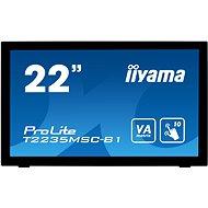 "21.5"" iiyama ProLite T2235MSC-B1 MultiTouch - LCD LED monitor"