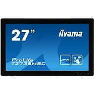 "27"" iiyama ProLite T2735MSC-B2 MultiTouch - Érintőképernyős LCD monitor"