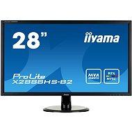 "28"" iiyama ProLite X2888HS-B2 - LCD LED monitor"
