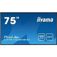 """75"""" iiyama LH7510USHB-B1 - Nagyformátumú kijelző"""