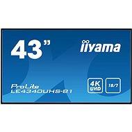 """43"""" iiyama LE4340UHS-B1 - Nagyformátumú kijelző"""