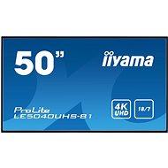 """50"""" iiyama LE5040UHS-B1 - Nagyformátumú kijelző"""