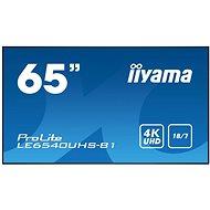 """65"""" iiyama LE6540UHS-B1 - Nagyformátumú kijelző"""