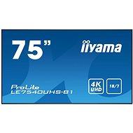 """75"""" iiyama LE7540UHS-B1 - Nagyformátumú kijelző"""