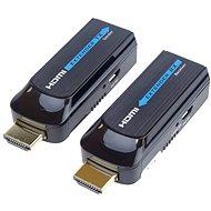 PremiumCord HDMI FULL HD extender, 50 m, egy Cat6 kábelen keresztül - Átalakító
