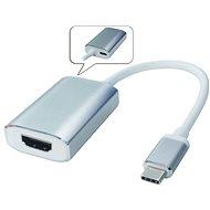 PremiumCord USB 3.1-ről HDMI-re alumínium tokkal - Átalakító