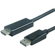 PremiumCord DisplayPort - HDMI M / M - Videokábel