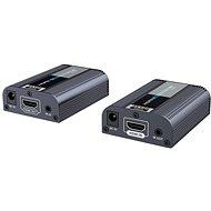 PremiumCord HDMI2.0 extender 60m-es távolságig egy Cat6 / 6a / 7 kábel segítségével - Átalakító