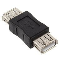 PremiumCord USB adapter AA, Nő / Nő - Vezeték összekötők
