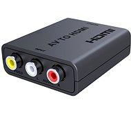 PremiumCord AV kompozit jel és sztereo audio-HDMI 1080P konverter - Átalakító