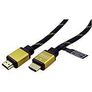 Arany ROLINE HDMI High Speed ??Ethernet (HDMI M <-> HDMI M), aranyozott csatlakozók, 10m - Videokábel
