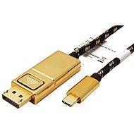 Roline GOLD Kábel USB C(M) -> DisplayPort(M), 4K@60Hz, 2m - Videokábel