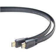 PremiumCord HDMI High Speed összekötő kábel 2m, lapos - Videokábel