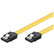 Adatkábel PremiumCord SATA III 0,3 m - Datový kabel