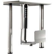 Roline asztallap alatti PC tartó, ezüst, 30kg