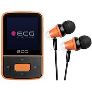 Mp4 lejátszó ECG PMP 30 8 GB Black&Orange - MP4 přehrávač