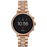 Fossil Venture HR Rose Gold-Tone Stainless Steel - Sportóra