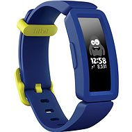 Fitbit Ace 2, éjkék/ neonsárga csat - Okoskarkötő
