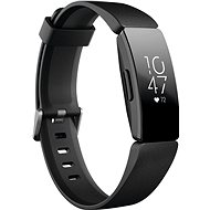 Fitbit Inspire HR Black - Okoskarkötő