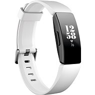 Fitbit Inspire HR, fehér/ fekete - Okoskarkötő