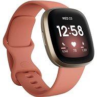 Fitbit Versa 3 - Pink Clay/Soft Gold Aluminum - Okosóra