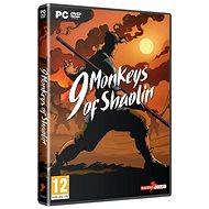 9 Monkeys of Shaolin - PC játék