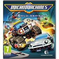 Micro Machines World Series - PC játék