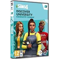The Sims 4: Discover University - Játékbővítmény