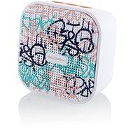 Gogen BS 034 G STREET fehér-rózsaszín - Bluetooth hangszóró