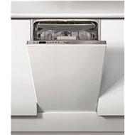 WHIRLPOOL WSIO 3O34 PFE X - Keskeny beépíthető mosogatógép