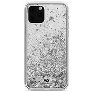 White Diamonds Sparkle Case iPhone 11 Pro-hoz - ezüst csillagok - Mobiltelefon hátlap