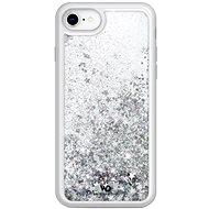 White Diamonds Sparkle Case Apple iPhone SE (2020)/ 8/ 7/ 6/ 6S készülékhez - ezüst csillagok