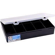 Wham tároló doboz 29x19x5,5cm fekete 12840