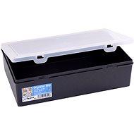 Wham tároló doboz 29x19x8cm fekete 12850 - Szerszám rendszerező