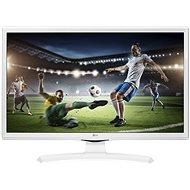 "24"" LG 24MT49VW fehér - Monitor TV tunerrel"