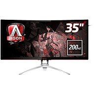 """35"""" AOC AG352QCX - LCD LED monitor"""