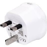 Úti adapter Wontravel WL-07 - EU, AUS, US -> UK; fehér - Cestovní adaptér