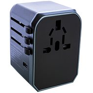 Wontravel JY-305A - UK, EU, US -> EU, UK, US; 4x USB, USB-C