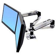 Ergotron LX Dual Side-by-Side monitorállvány - Asztali monitorállvány