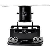 Optoma univerzális mennyezeti projektor tartó - fekete (70 mm) - Mennyezeti tartó