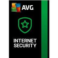 AVG Internet Security 1 számítógépre 12 hónapig (elektronikus licenc) - Biztonsági szoftver