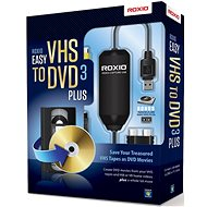 Easy VHS to DVD 3 Plus EN/FR/DE/ES/IT/NL - Író szoftver