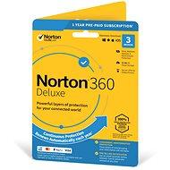 Symantec Norton 360 Deluxe 25 GB, 1 felhasználó, 3 eszköz, 12 hónap (elektronikus licenc) - Elektronikus licensz