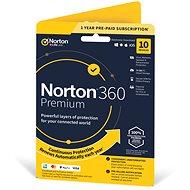 Symantec Norton 360 Premium 75 GB, 1 felhasználó, 10 eszköz, 12 hónap (elektronikus licenc) - Elektronikus licensz
