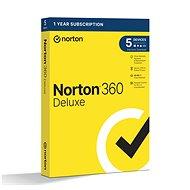 Norton 360 Deluxe 50GB CZ, 1 felhasználó, 5 készülék, 12 hónap (elektronikus licenc) - Elektronikus licensz